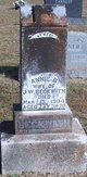 Anna Isabel <I>Brooks</I> Beckwith
