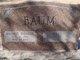 "William Monroe ""Bill"" Baum"