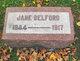 Profile photo:  Jane <I>Walters</I> Belford
