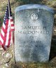 Pvt Samuel H MacDonald