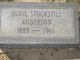 Profile photo:  Janie <I>Stockstill</I> Anderson