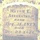Mattie E. Abernathy