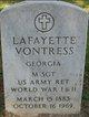 Profile photo:  Lafayette Vontress