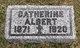 Catherine <I>Reeb</I> Albert