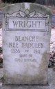 Lela Blanche <I>Badgley</I> Wright