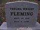 Thelma Vivian <I>Wright</I> Fleming
