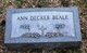 Ann <I>Schaubach</I> Beale