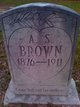 A. S. Brown