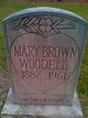 Mary Brown Woodell
