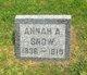 Annah A Snow