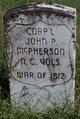 Corp John Pike McPherson