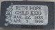 Ruth Hope <I>Child</I> Kidd