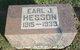 Profile photo:  Earl Jackson Hesson