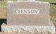 """Bjorn Mikkel Benjamin """"Ben"""" Benson"""