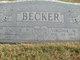 Virginia M. <I>Jones</I> Becker