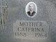 "Catherine ""Caterina"" <I>Mostachio</I> Smecca"