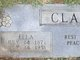 "Eliza Ann ""Ella"" <I>Thompson</I> Clark"
