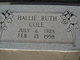 Profile photo:  Hallie Ruth Cole