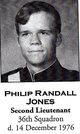 Lieut Phillip Randall Jones