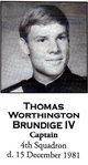 Capt Thomas Worthington Brundige, IV