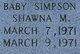 Shawna M Simpson