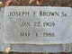 Joseph Franklin Brown, Sr