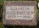 Profile photo:  Elizabeth Algermissen