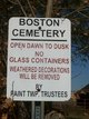 Boston Cemetery