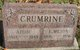 Profile photo:  Addie <I>Norris</I> Crumrine