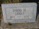 David H Sands