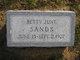 Betty June Sands