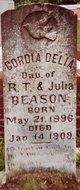 Gordia Delia Beason
