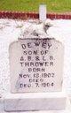 Dewey Thrower