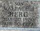 Wallace Julian Berg