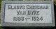 Gladys Josephine <I>Chrisman</I> Van Dyke