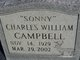 """Profile photo:  Charles William """"Sonny"""" Campbell"""