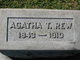 Profile photo:  Agatha <I>Thompson</I> Rew