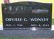 Orville G Wonsey