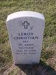 "Leroy ""Bo"" Christian"