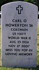 Carl Oren Howerton, Sr