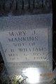 Mary J. <I>Mankins</I> Williams