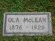 "Viola L ""Ola"" <I>Mulkins</I> McLean"