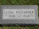 Leone Carrie <I>Brown</I> Westapher