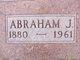Profile photo:  Abraham J Voth