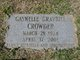 Gaynelle <I>Graybill</I> Crowder
