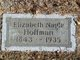 Elizabeth <I>Nagle</I> Hoffman