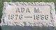 Profile photo: Mrs Ada M. <I>Miller</I> Prinkey
