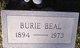 Profile photo:  Burie Beal