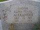 Edna Pearl <I>Thompson</I> Alexander