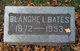 Profile photo:  Blanche <I>Lybrand</I> Bates